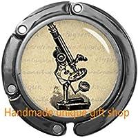 ファッションハンドバッグフック、顕微鏡パースフック – サイエンス財布フック – ラボラトリーギフト – RC180