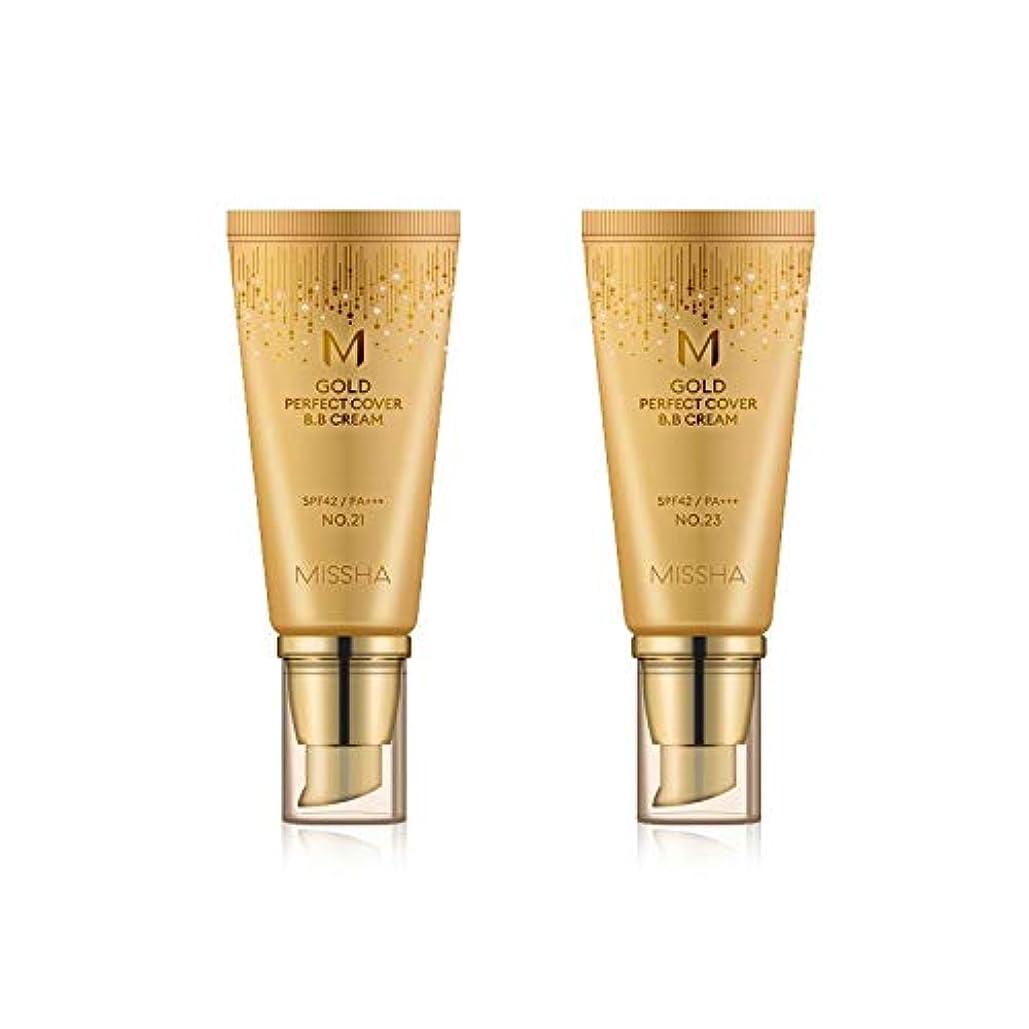 まつげ輸送ポークMISSHA Gold Perfecte Cover BB Cream SPF42 PA+++ / ミシャ ゴールド パーフェクト カバー BBクリーム 50ml *NO.23 [並行輸入品]