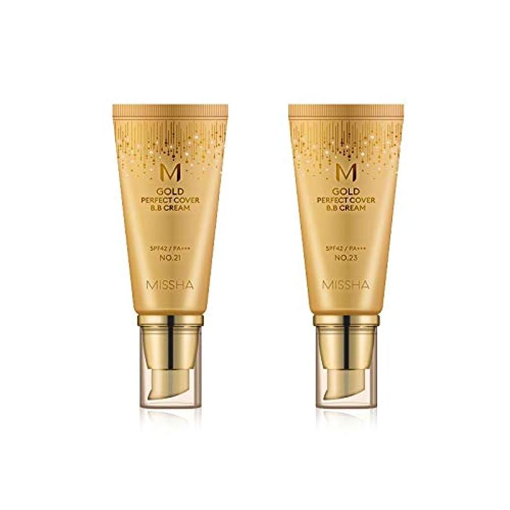 チャーミング戦う三角MISSHA Gold Perfecte Cover BB Cream SPF42 PA+++ / ミシャ ゴールド パーフェクト カバー BBクリーム 50ml *NO.23 [並行輸入品]