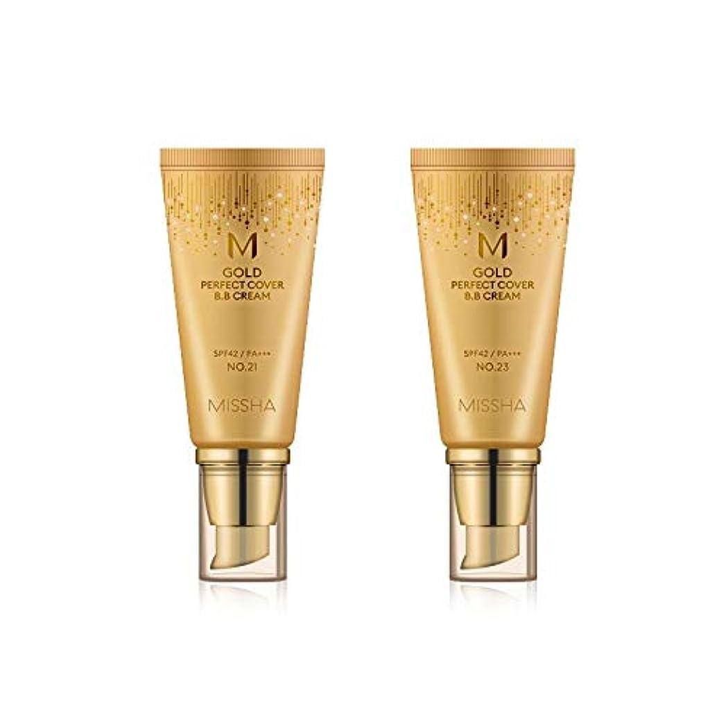 方言より平らな第九MISSHA Gold Perfecte Cover BB Cream SPF42 PA+++ / ミシャ ゴールド パーフェクト カバー BBクリーム 50ml *NO.23 [並行輸入品]