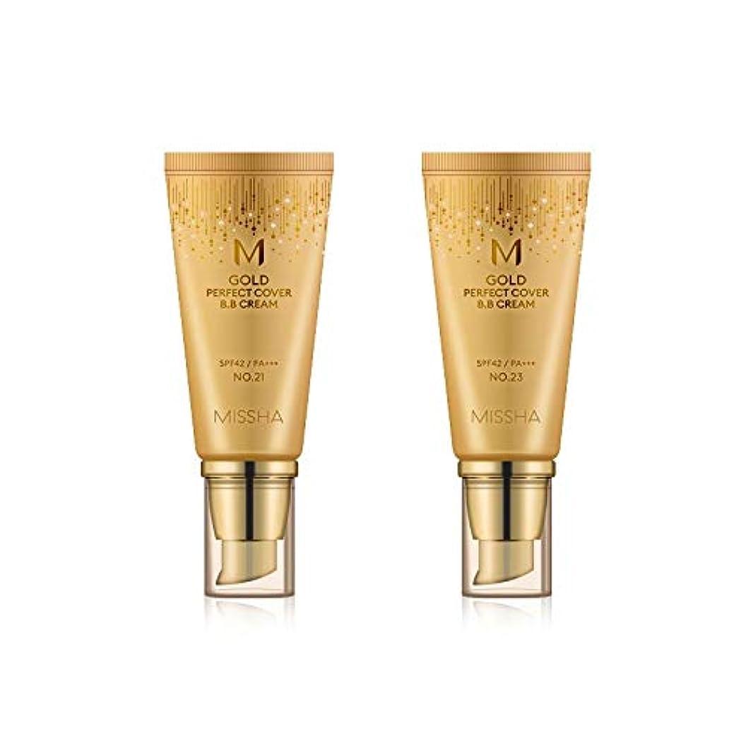 ピアニストパパめんどりMISSHA Gold Perfecte Cover BB Cream SPF42 PA+++ / ミシャ ゴールド パーフェクト カバー BBクリーム 50ml *NO.21 [並行輸入品]