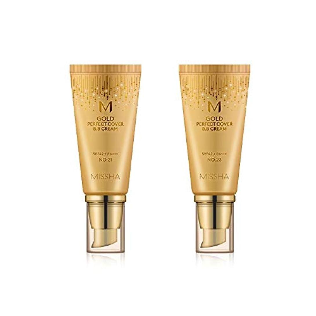 異なる突進違うMISSHA Gold Perfecte Cover BB Cream SPF42 PA+++ / ミシャ ゴールド パーフェクト カバー BBクリーム 50ml *NO.21 [並行輸入品]