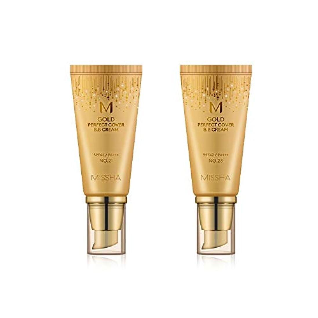 最大化するセンサー手のひらMISSHA Gold Perfecte Cover BB Cream SPF42 PA+++ / ミシャ ゴールド パーフェクト カバー BBクリーム 50ml *NO.23 [並行輸入品]
