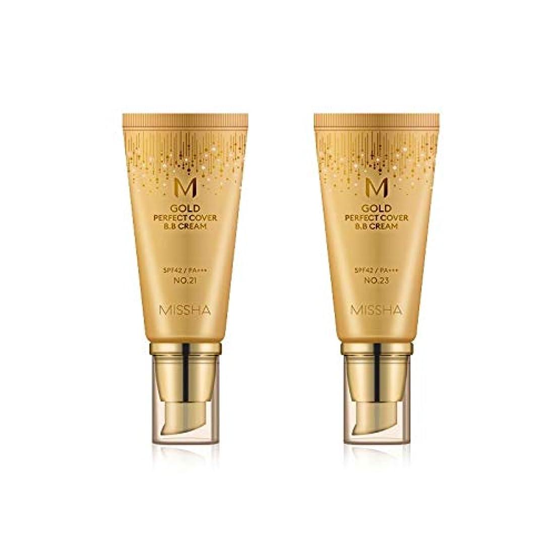 抵当消防士貢献するMISSHA Gold Perfecte Cover BB Cream SPF42 PA+++ / ミシャ ゴールド パーフェクト カバー BBクリーム 50ml *NO.23 [並行輸入品]