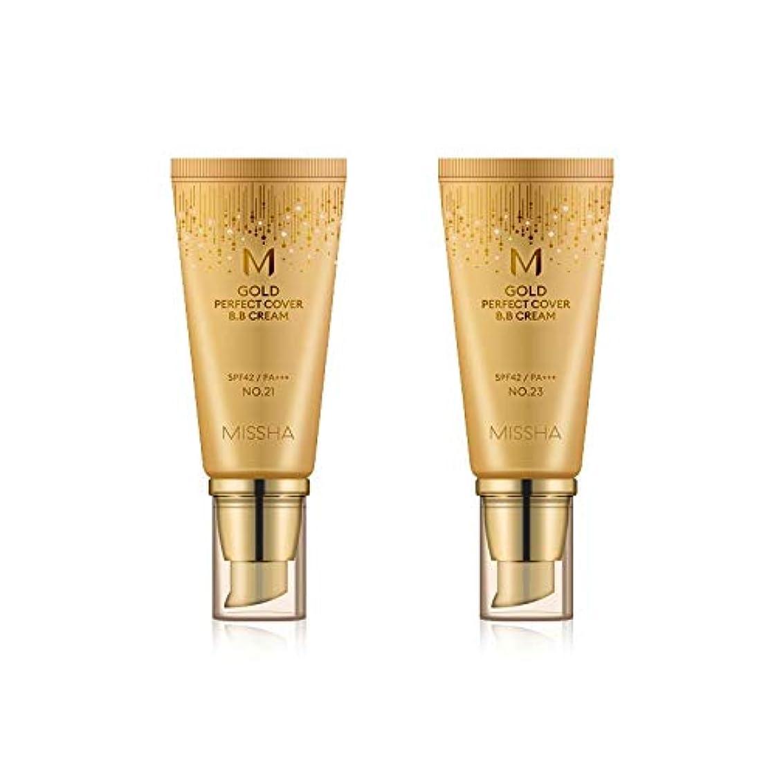 より平らな対象シェードMISSHA Gold Perfecte Cover BB Cream SPF42 PA+++ / ミシャ ゴールド パーフェクト カバー BBクリーム 50ml *NO.23 [並行輸入品]