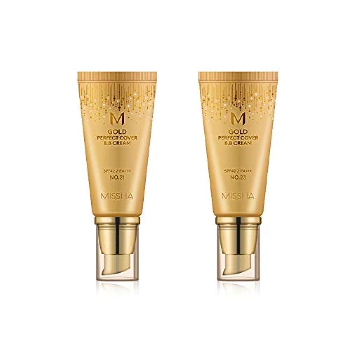 歌胃どれでもMISSHA Gold Perfecte Cover BB Cream SPF42 PA+++ / ミシャ ゴールド パーフェクト カバー BBクリーム 50ml *NO.23 [並行輸入品]