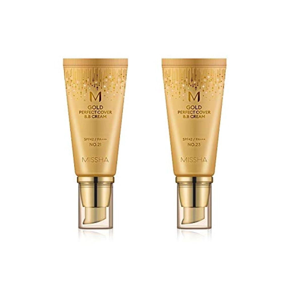 追跡布かもめMISSHA Gold Perfecte Cover BB Cream SPF42 PA+++ / ミシャ ゴールド パーフェクト カバー BBクリーム 50ml *NO.23 [並行輸入品]