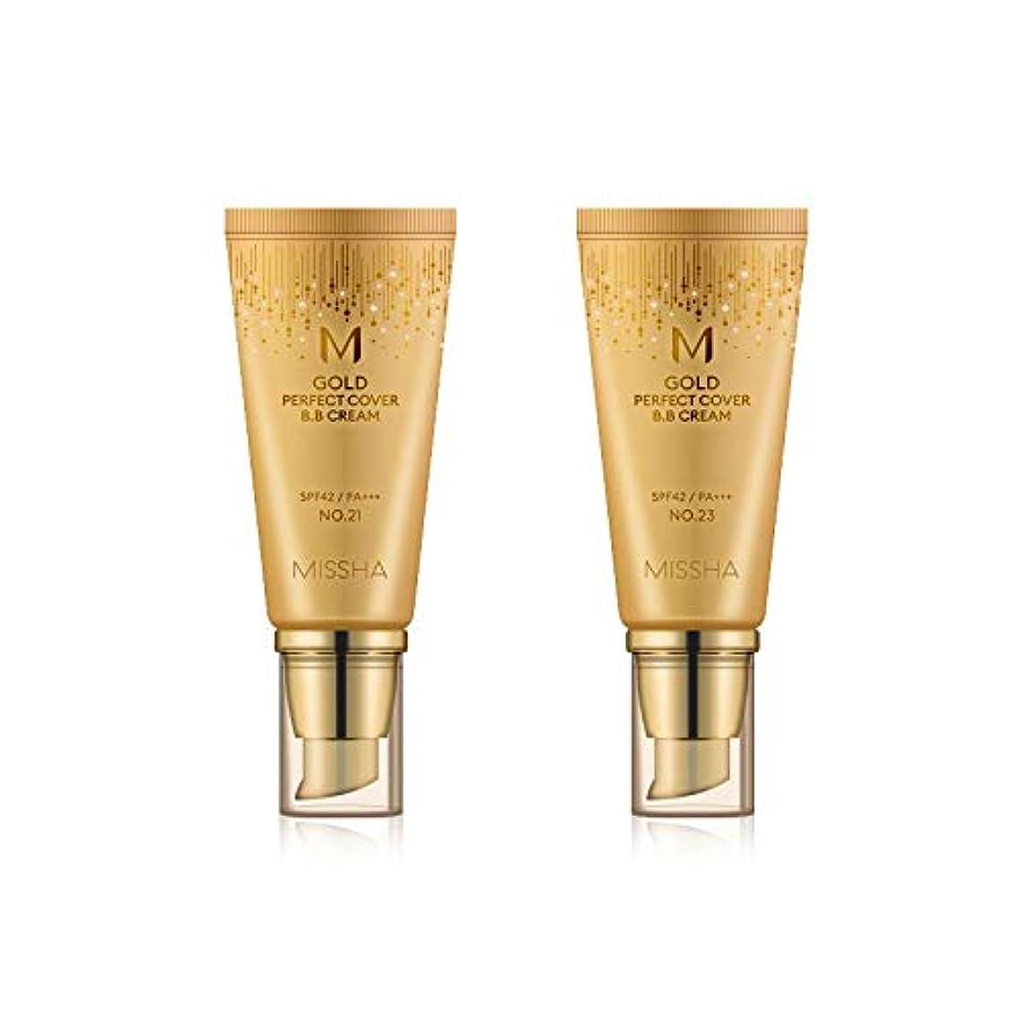 コントラストイースター経済MISSHA Gold Perfecte Cover BB Cream SPF42 PA+++ / ミシャ ゴールド パーフェクト カバー BBクリーム 50ml *NO.23 [並行輸入品]