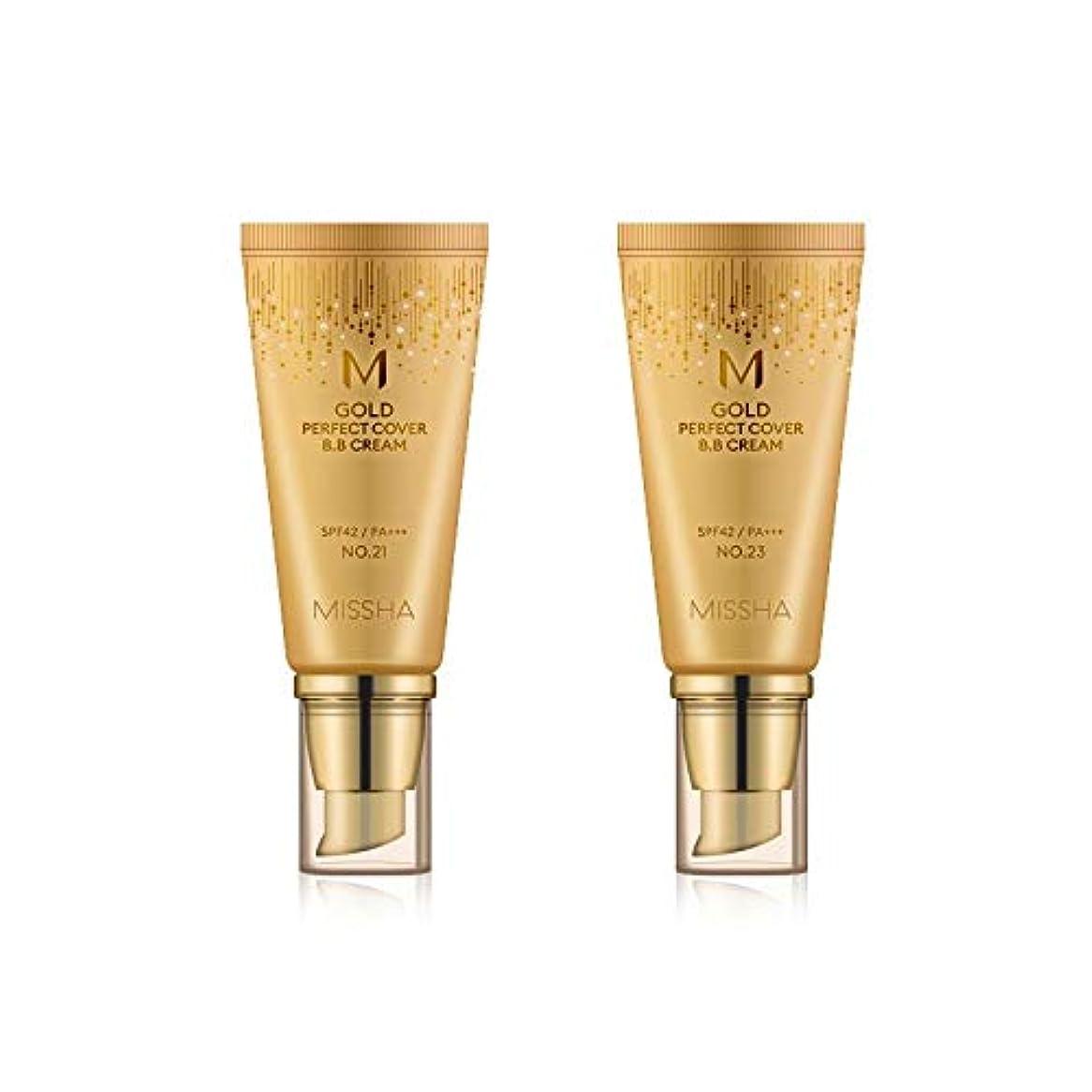 吸収するキルトハッチMISSHA Gold Perfecte Cover BB Cream SPF42 PA+++ / ミシャ ゴールド パーフェクト カバー BBクリーム 50ml *NO.21 [並行輸入品]