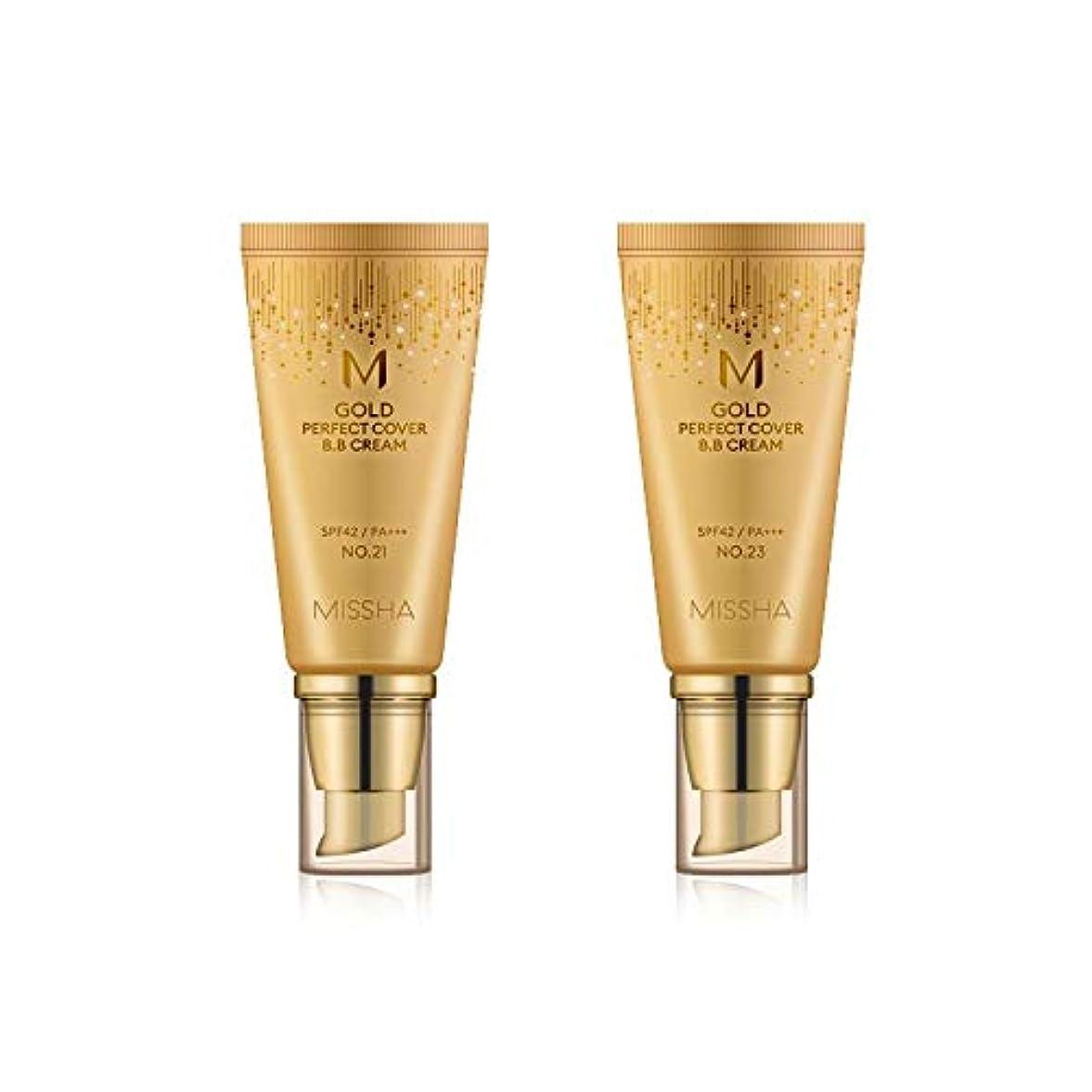 量で囲まれたいくつかのMISSHA Gold Perfecte Cover BB Cream SPF42 PA+++ / ミシャ ゴールド パーフェクト カバー BBクリーム 50ml *NO.21 [並行輸入品]