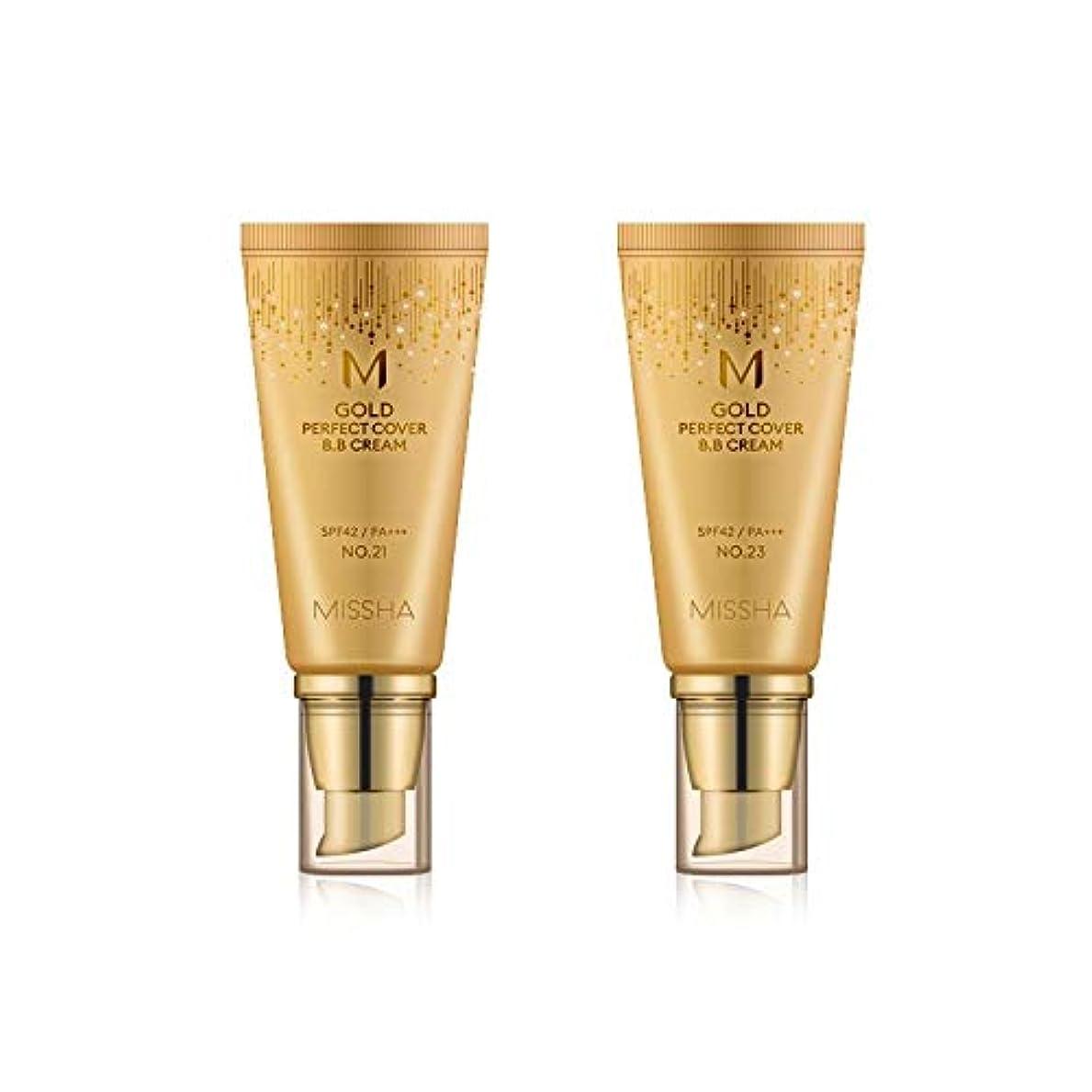 MISSHA Gold Perfecte Cover BB Cream SPF42 PA+++ / ミシャ ゴールド パーフェクト カバー BBクリーム 50ml *NO.21 [並行輸入品]
