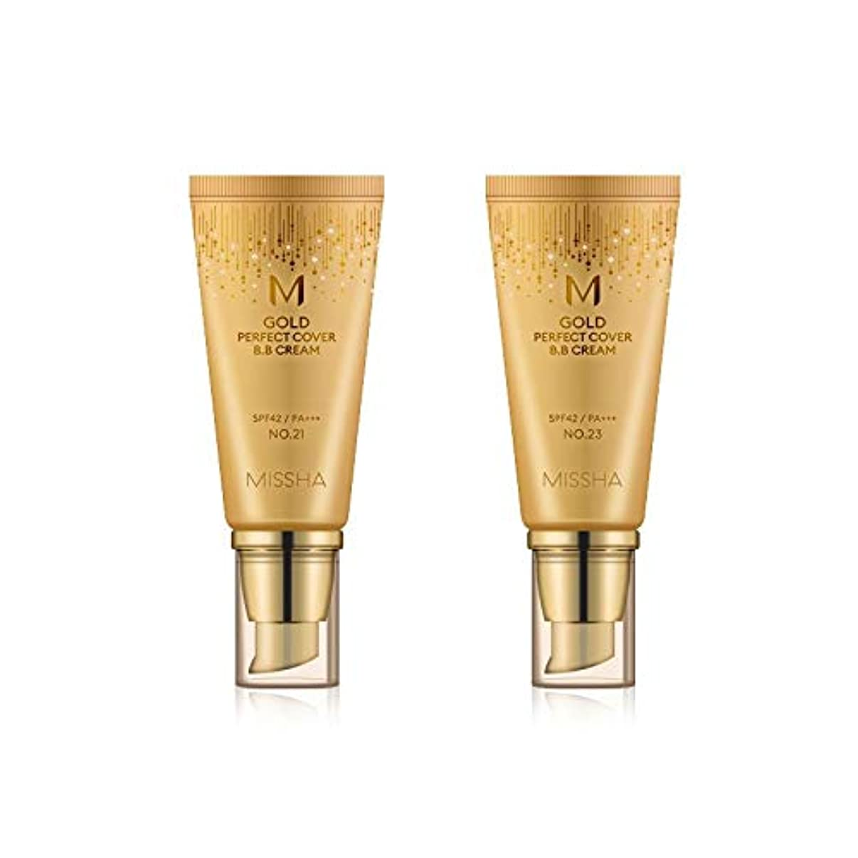 ユニークな側溝実行MISSHA Gold Perfecte Cover BB Cream SPF42 PA+++ / ミシャ ゴールド パーフェクト カバー BBクリーム 50ml *NO.21 [並行輸入品]
