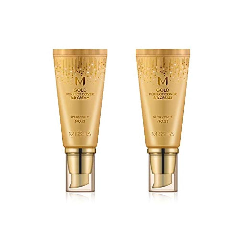 閃光衣服十分MISSHA Gold Perfecte Cover BB Cream SPF42 PA+++ / ミシャ ゴールド パーフェクト カバー BBクリーム 50ml *NO.21 [並行輸入品]