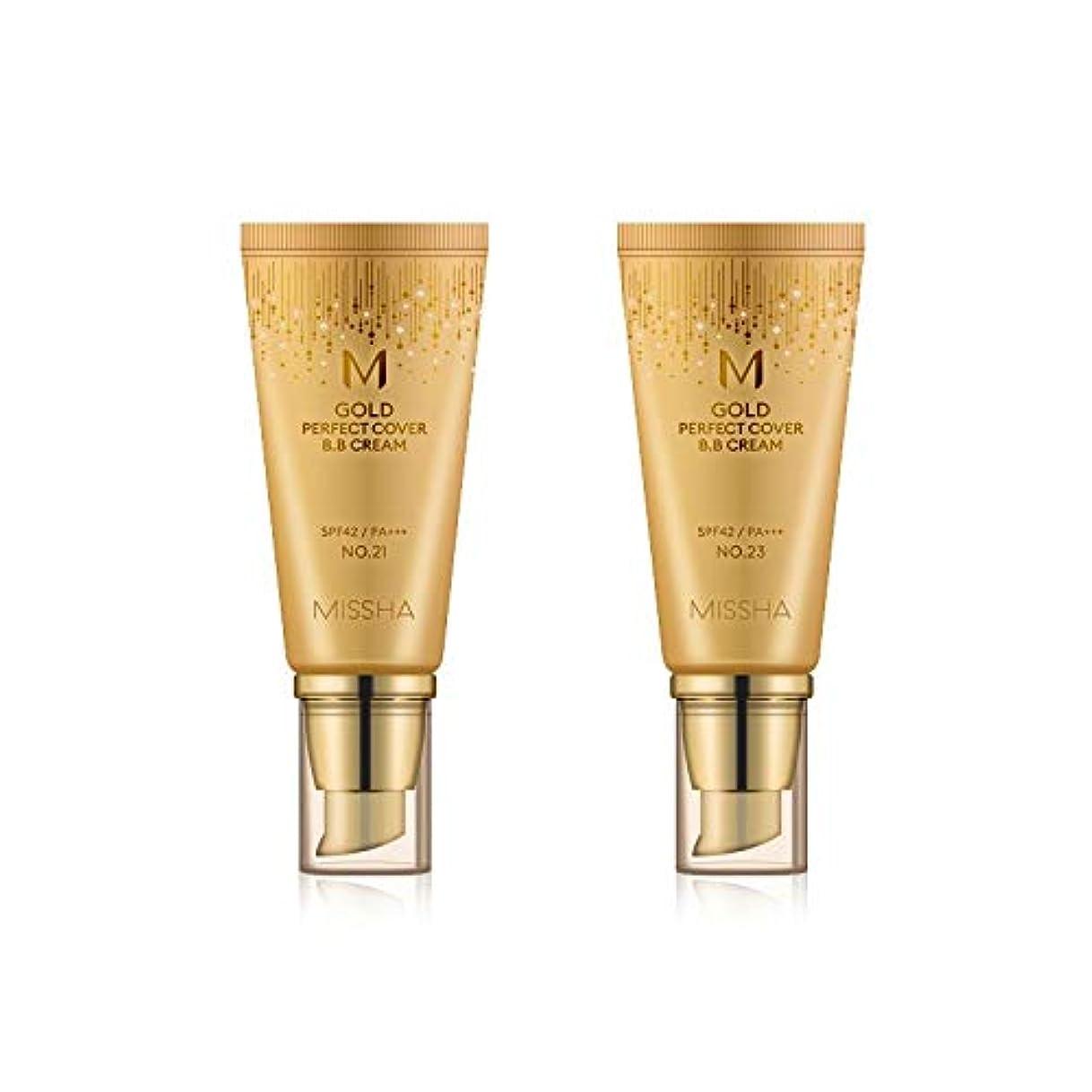 レンダリングびっくりしたベスビオ山MISSHA Gold Perfecte Cover BB Cream SPF42 PA+++ / ミシャ ゴールド パーフェクト カバー BBクリーム 50ml *NO.23 [並行輸入品]