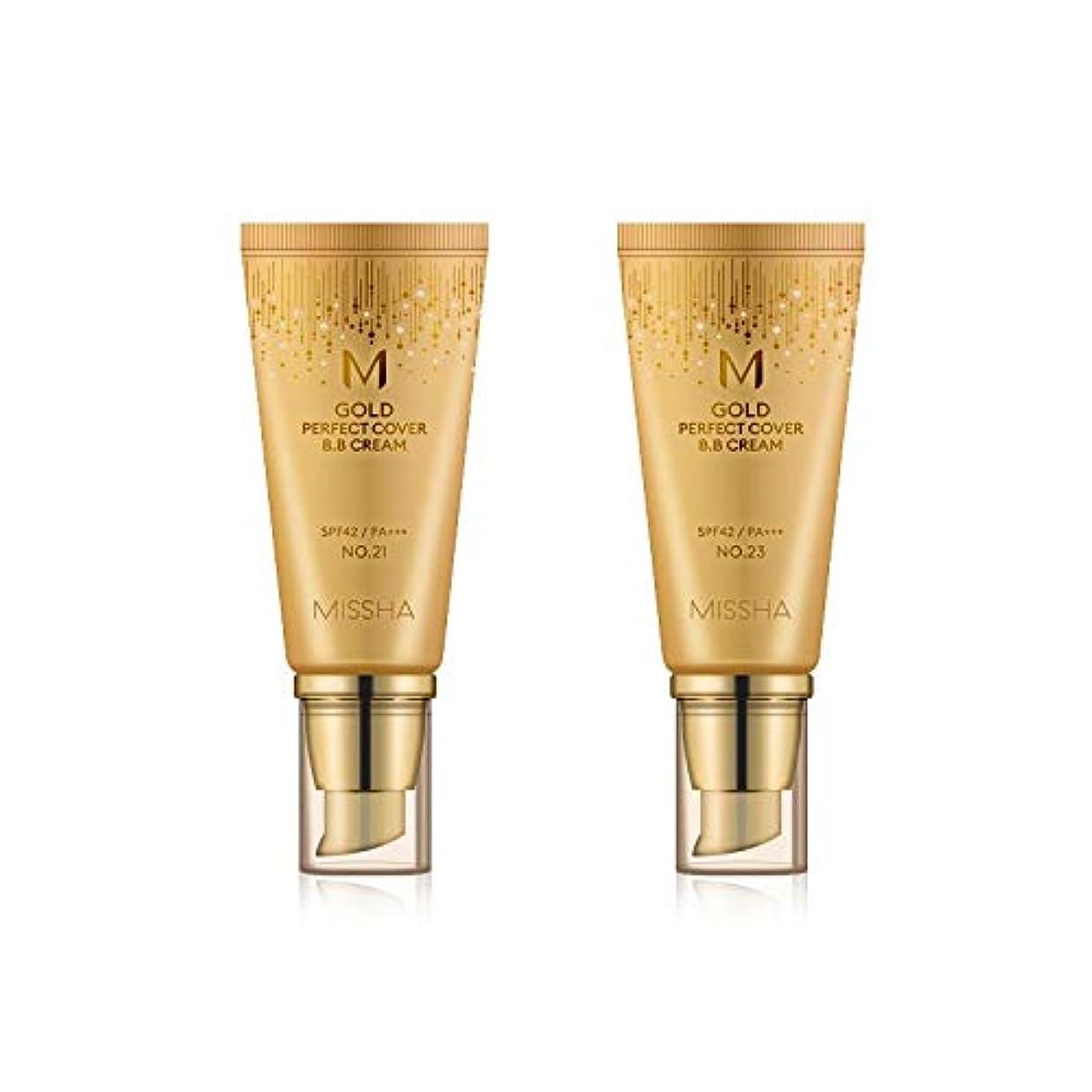 魅了するドナー努力MISSHA Gold Perfecte Cover BB Cream SPF42 PA+++ / ミシャ ゴールド パーフェクト カバー BBクリーム 50ml *NO.21 [並行輸入品]