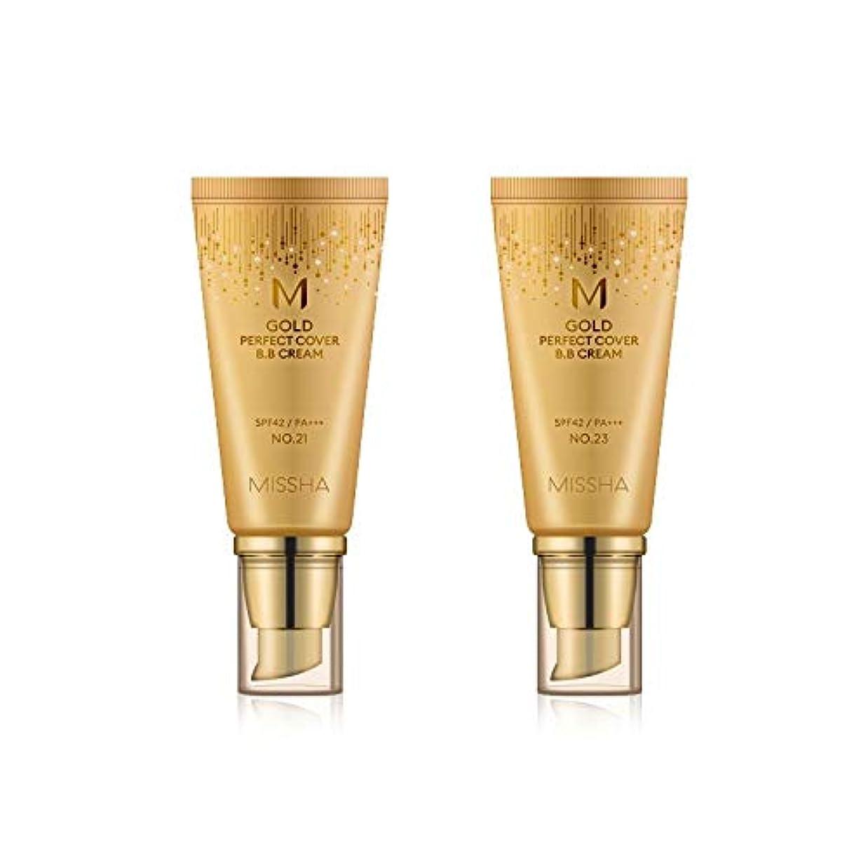 初期経過不正直MISSHA Gold Perfecte Cover BB Cream SPF42 PA+++ / ミシャ ゴールド パーフェクト カバー BBクリーム 50ml *NO.21 [並行輸入品]