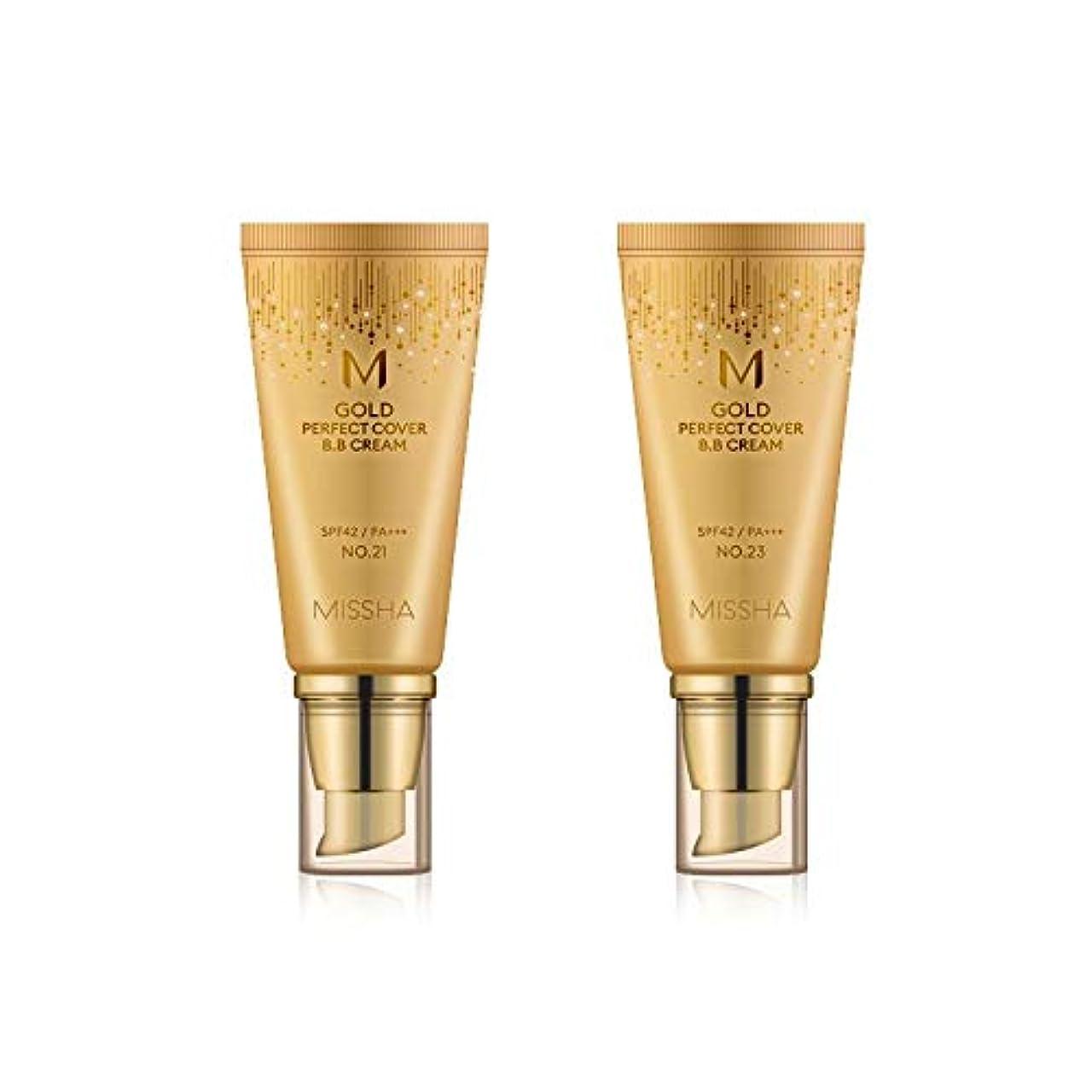 アクセス自明防衛MISSHA Gold Perfecte Cover BB Cream SPF42 PA+++ / ミシャ ゴールド パーフェクト カバー BBクリーム 50ml *NO.23 [並行輸入品]