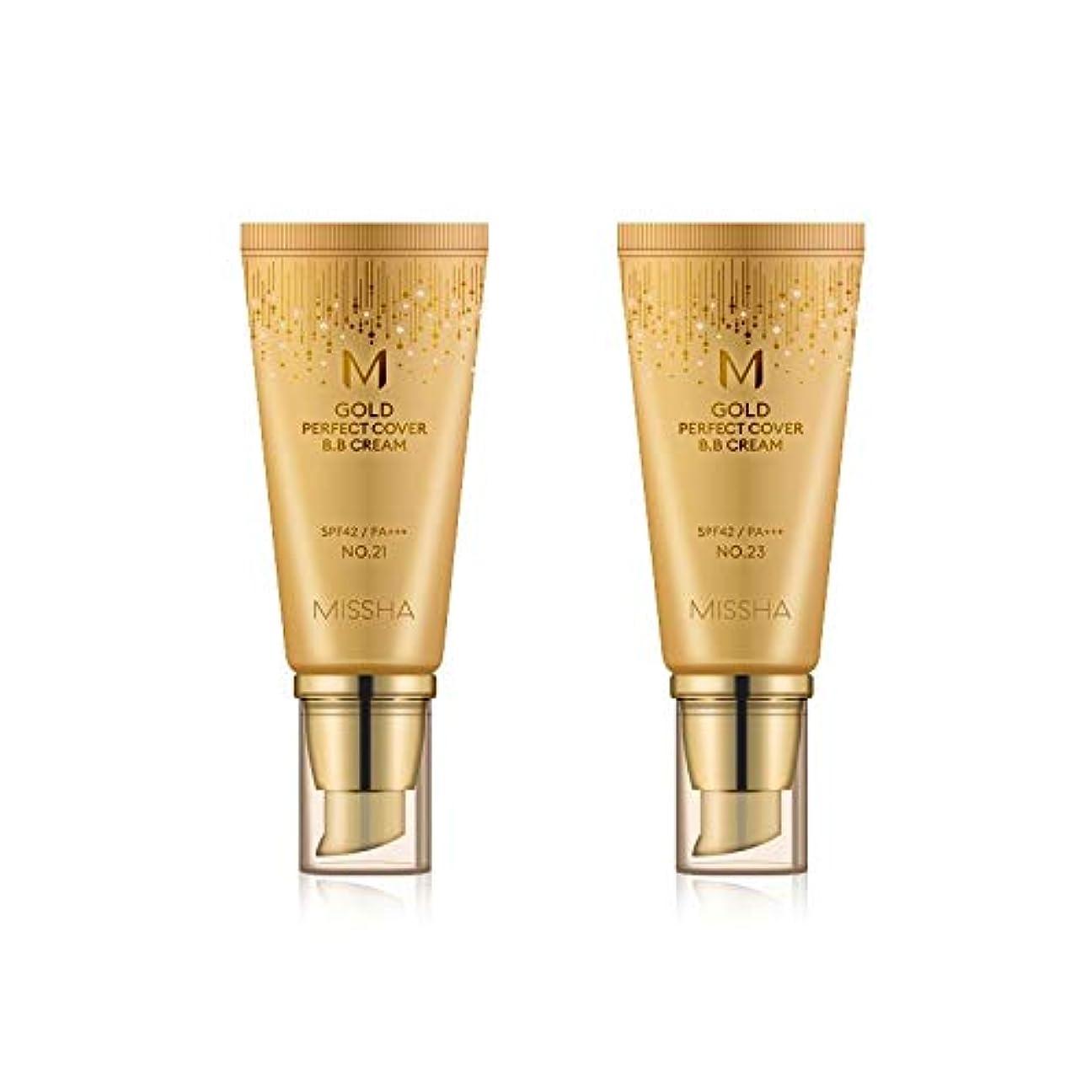 心臓うるさいできればMISSHA Gold Perfecte Cover BB Cream SPF42 PA+++ / ミシャ ゴールド パーフェクト カバー BBクリーム 50ml *NO.23 [並行輸入品]