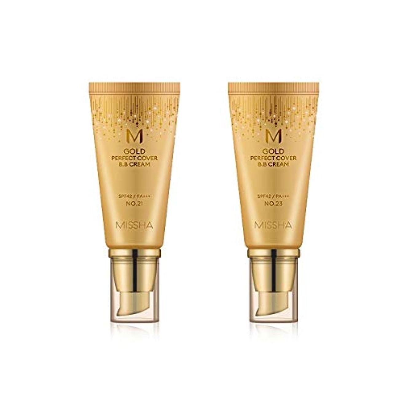 マーティフィールディング満足マーティフィールディングMISSHA Gold Perfecte Cover BB Cream SPF42 PA+++ / ミシャ ゴールド パーフェクト カバー BBクリーム 50ml *NO.23 [並行輸入品]