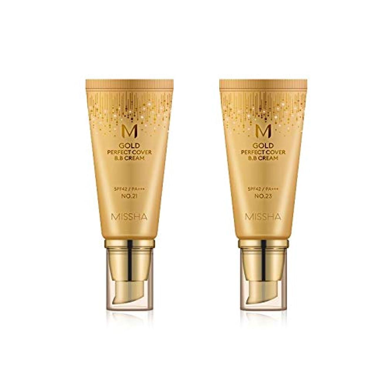 成長揮発性合体MISSHA Gold Perfecte Cover BB Cream SPF42 PA+++ / ミシャ ゴールド パーフェクト カバー BBクリーム 50ml *NO.23 [並行輸入品]