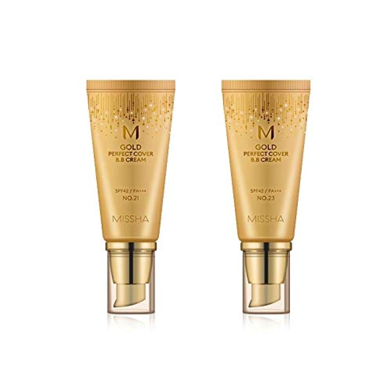 鎖喉が渇いた娘MISSHA Gold Perfecte Cover BB Cream SPF42 PA+++ / ミシャ ゴールド パーフェクト カバー BBクリーム 50ml *NO.21 [並行輸入品]