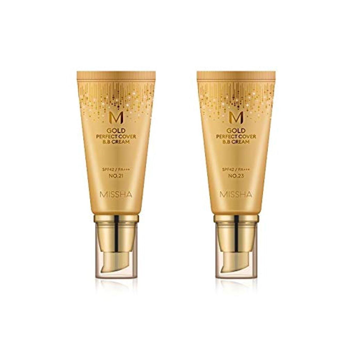鮫土曜日返還MISSHA Gold Perfecte Cover BB Cream SPF42 PA+++ / ミシャ ゴールド パーフェクト カバー BBクリーム 50ml *NO.21 [並行輸入品]
