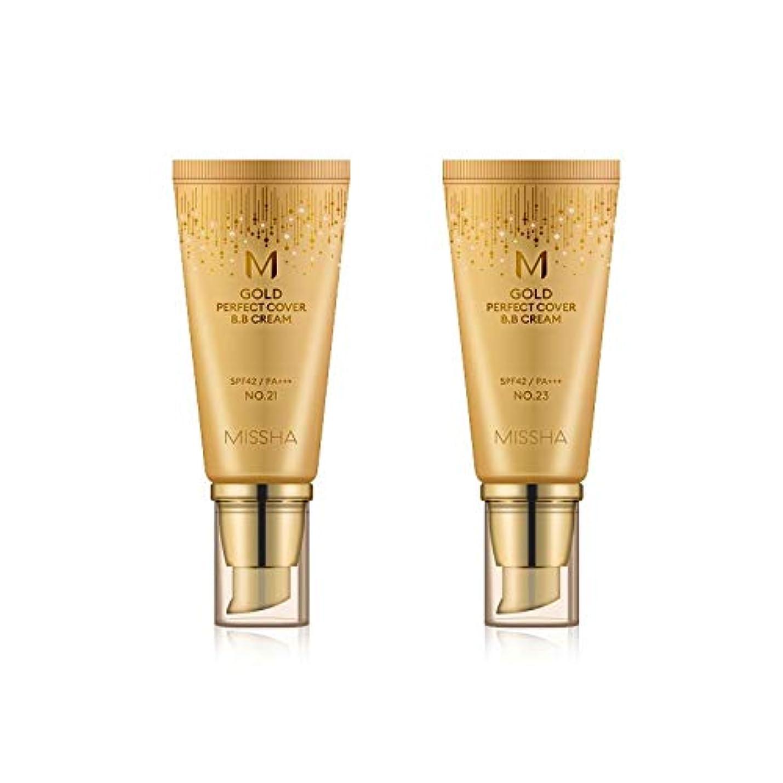 田舎プロポーショナルくMISSHA Gold Perfecte Cover BB Cream SPF42 PA+++ / ミシャ ゴールド パーフェクト カバー BBクリーム 50ml *NO.23 [並行輸入品]