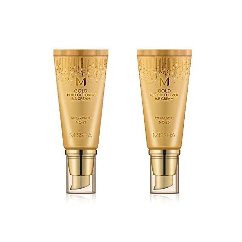 バウンスコーラス広範囲MISSHA Gold Perfecte Cover BB Cream SPF42 PA+++ / ミシャ ゴールド パーフェクト カバー BBクリーム 50ml *NO.23 [並行輸入品]