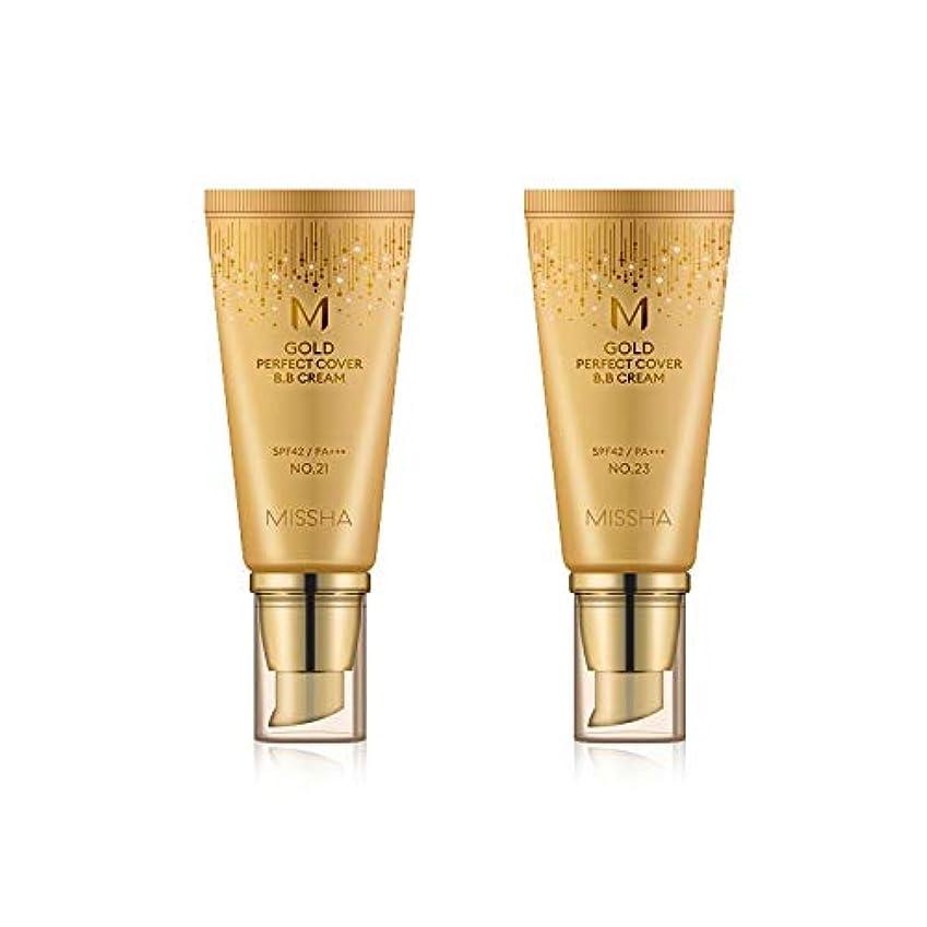 ご予約住人宇宙のMISSHA Gold Perfecte Cover BB Cream SPF42 PA+++ / ミシャ ゴールド パーフェクト カバー BBクリーム 50ml *NO.21 [並行輸入品]