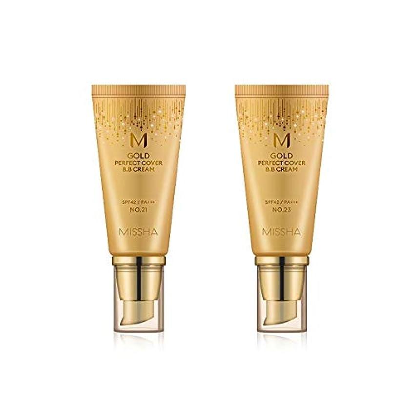 ブル苦しむ地元MISSHA Gold Perfecte Cover BB Cream SPF42 PA+++ / ミシャ ゴールド パーフェクト カバー BBクリーム 50ml *NO.23 [並行輸入品]