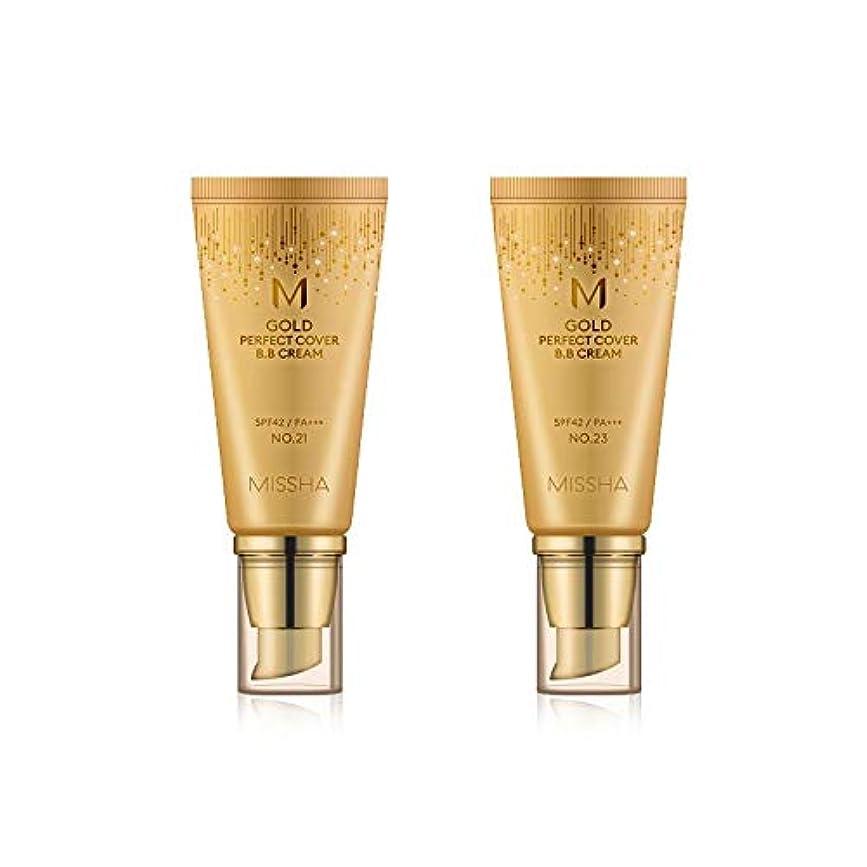 ジョブヒゲクジラ抑制するMISSHA Gold Perfecte Cover BB Cream SPF42 PA+++ / ミシャ ゴールド パーフェクト カバー BBクリーム 50ml *NO.23 [並行輸入品]