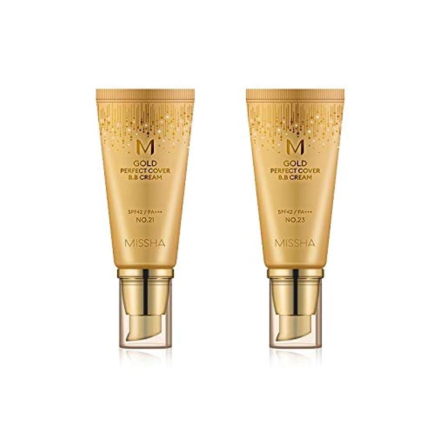 繊維形容詞足首MISSHA Gold Perfecte Cover BB Cream SPF42 PA+++ / ミシャ ゴールド パーフェクト カバー BBクリーム 50ml *NO.23 [並行輸入品]