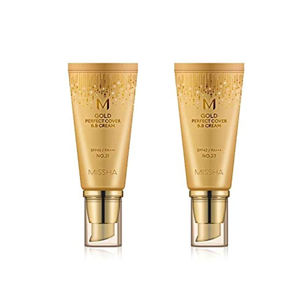 効果なに疲労MISSHA Gold Perfecte Cover BB Cream SPF42 PA+++ / ミシャ ゴールド パーフェクト カバー BBクリーム 50ml *NO.21 [並行輸入品]