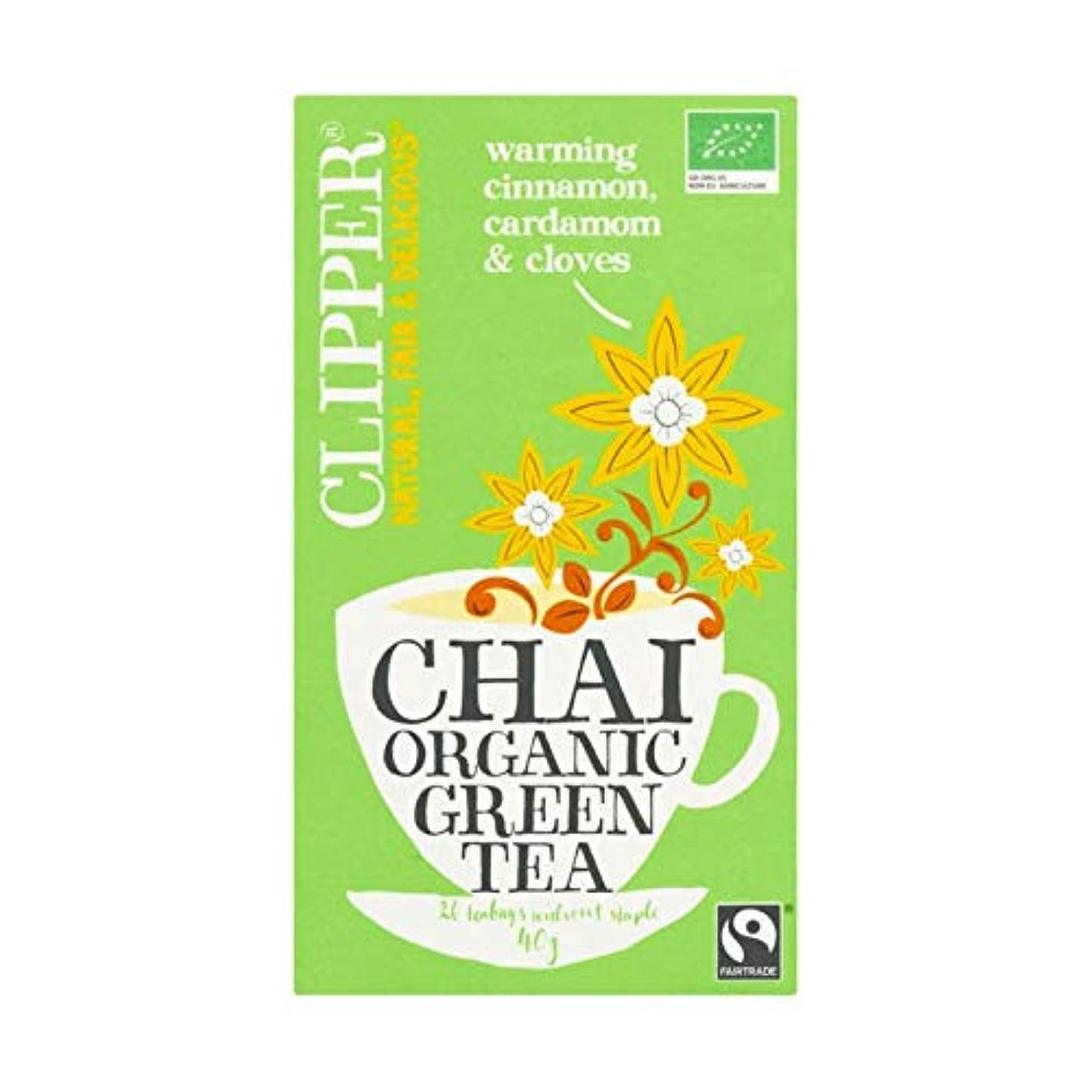 神経衰弱香りやりすぎ緑茶   Clipper   チャイオーガニックグリーンティー20バッグ   総重量 40 グラム