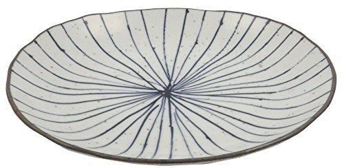 美濃焼 ダエン皿 十草 123-1204