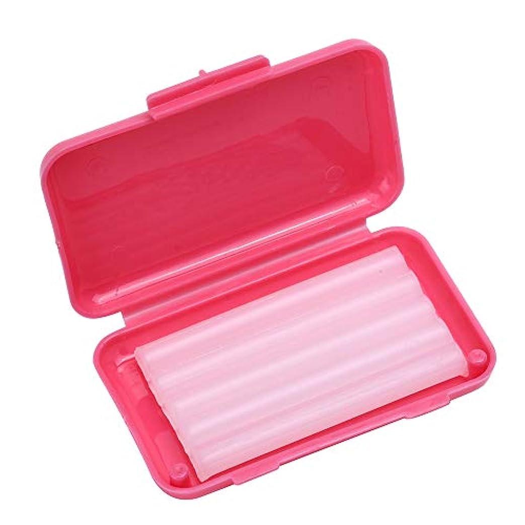プランター局割合Wecando歯科矯正用ワックス 保護ワックス 口腔ケア 抗潰瘍 持ち運び便利 (バラ香り 5箱)