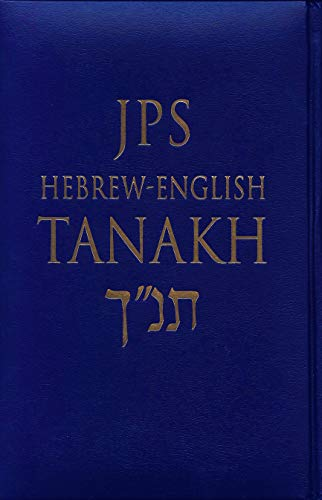 Download Jps Hebrew-English Tanakh: The Traditional Hebrew Text and the New Jps Translation 0827606567