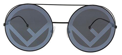 Fendi ユニセックス・アダルト 円形 US サイズ: 63mm カラー: ブラック