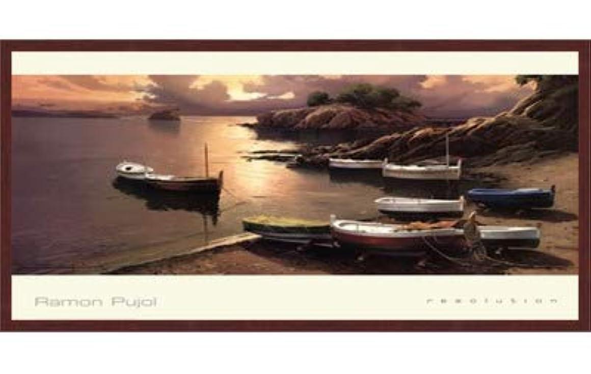 喜んで間欠子豚解像度by Ramon Pujol – 38 x 24インチ – アートプリントポスター LE_72469-F10483-38x24