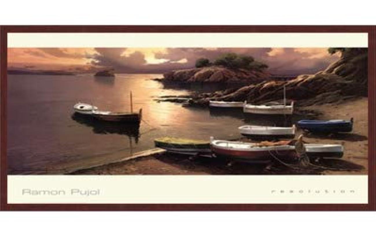 欠員机五解像度by Ramon Pujol – 38 x 24インチ – アートプリントポスター LE_72469-F10483-38x24