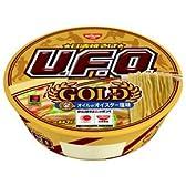 日清 焼そばUFO(ユーフォー)GOLD 金のオイルのオイスター塩味 12個入 2ケース(24個)