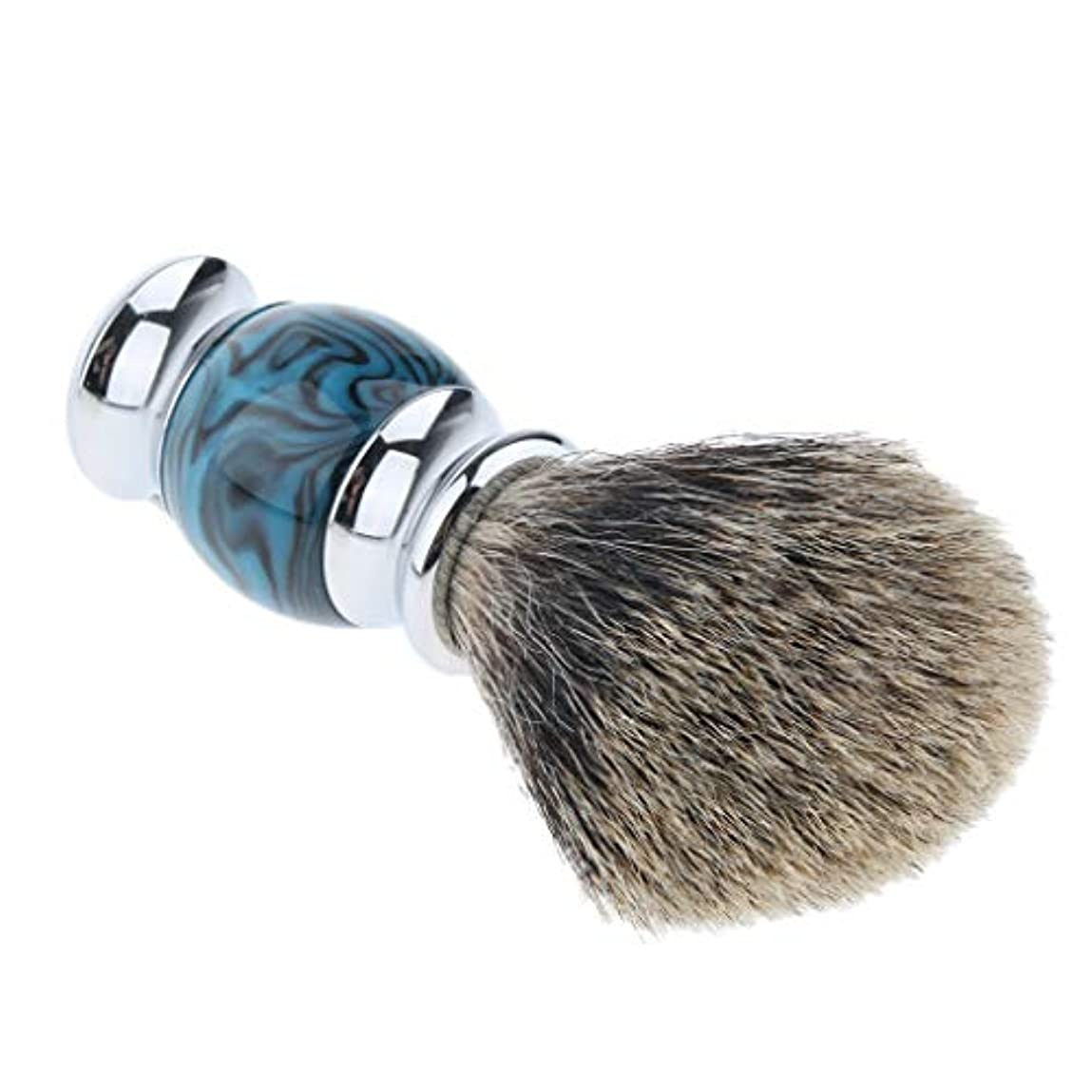 テストかかわらず十二chiwanji メンズ ひげブラシ シェービングブラシ 髭剃り 泡立ち 父の日 贈り物 多色選べ - 04