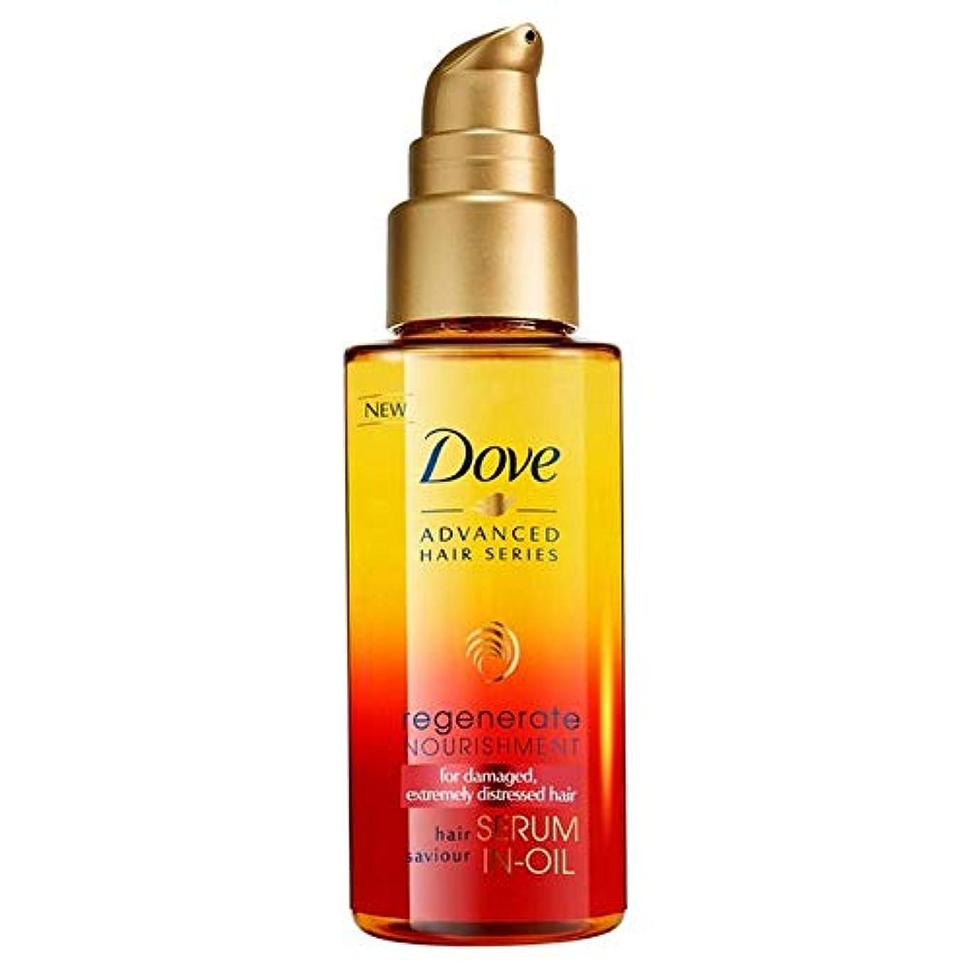 [Dove ] 鳩高度な髪シリーズは栄養血清中の油中50ミリリットルを再生成します - Dove Advanced Hair Series Regenerate Nourishment Serum-in-Oil 50ml...