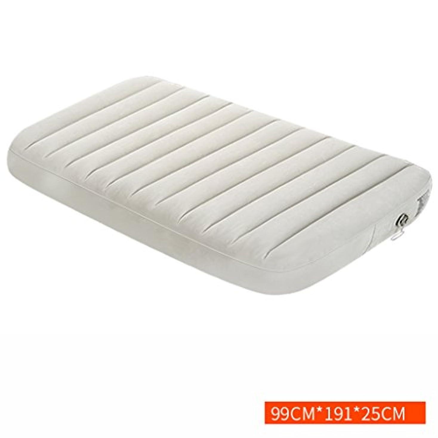 パイル控えめな拮抗ベッド、怠惰なインフレータブル折りたたみポータブルエアクッション家庭用屋外マットレス (サイズ さいず : 99*191*25cm)