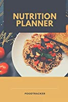 NUTRITION PLANNER FOODTRACKER: A5 notebook point grid| planner | journal | meal tracker | motivational diary | fitness plan