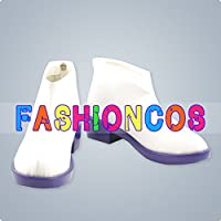 ★サイズ選択可★男性28CM UB107 VOCALOID ボーカロイド 弱音ハク コスプレ靴 ブーツ