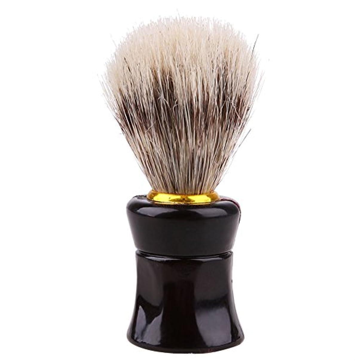 豊富に真剣にパット男性、かわいい、ひげブラシ、シェーバーブラシ、便利、実用的、美容ツール、シェービングツール、黒