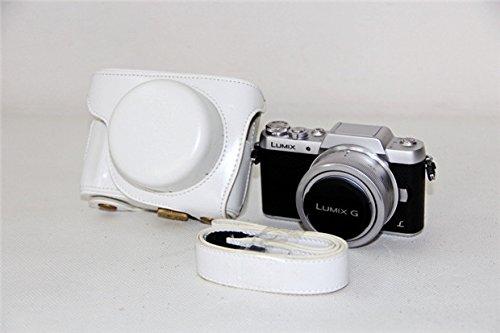 GotorR DMC-GF7 ミラーレスカメラ 対応 交換用 プロテクト ケース (ホワイト(12-32))