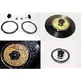 EP用 レコード レーベル カバー 7インチ クリーナー 保護 洗浄 コレクターズ DJ (小穴、ドーナツ盤対応)