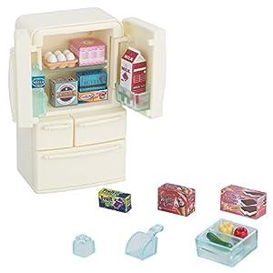 シルバニアファミリー 家具 冷蔵庫セット(5ドア)